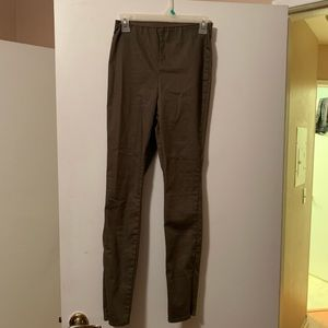 Olive green slacks